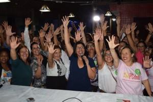 Lançamento da Frente de Mulheres - Foto: Ascom / Jailce Andrade
