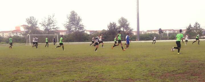 Seleção Camaçari Sub-15 em treinamento. Foto: Divulgação.