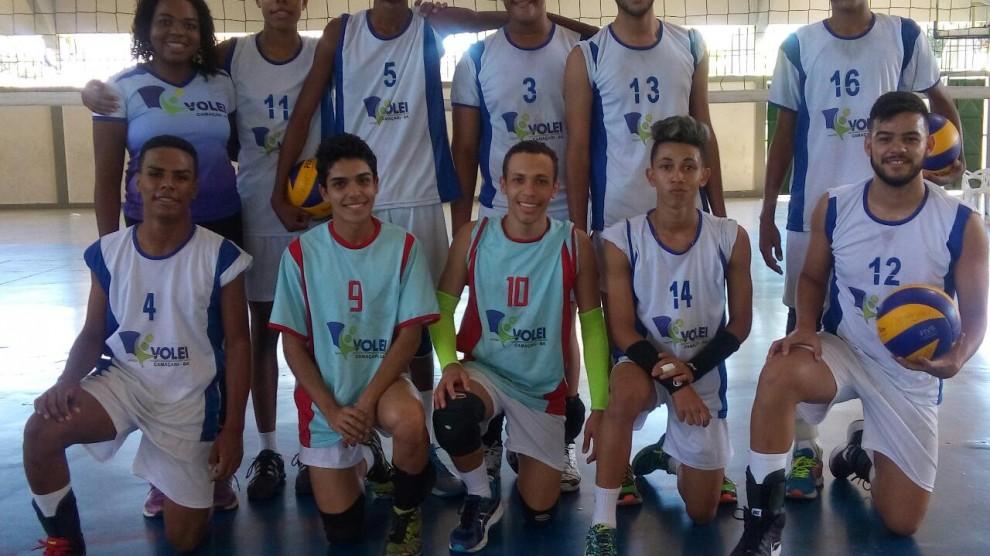 Vôlei Sub-20 é vice-campeão do Campeonato Baiano. Foto: Divulgação.
