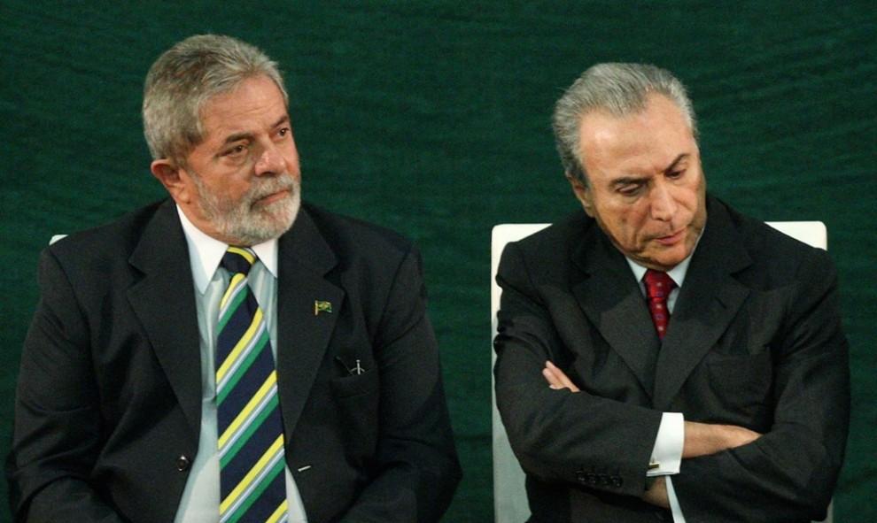 Resultado de imagem para Lula x Temer