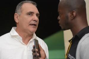 Pellegrino em entrevista ao portal Cidade Satélite - Foto: Emerson Silva