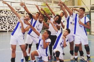 Equipe comemora avanço no Campeonato Baiano. Foto: Divulgação.